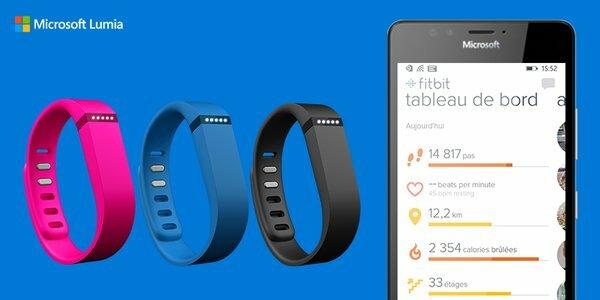 Microsoft Fitbit Flex Concours