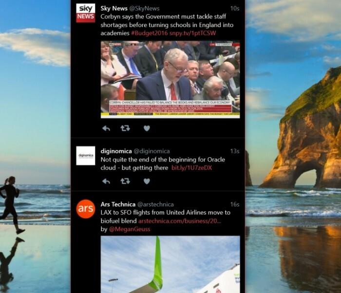 [App]  Twitter pour Windows 10 désormais disponible sur Phone !