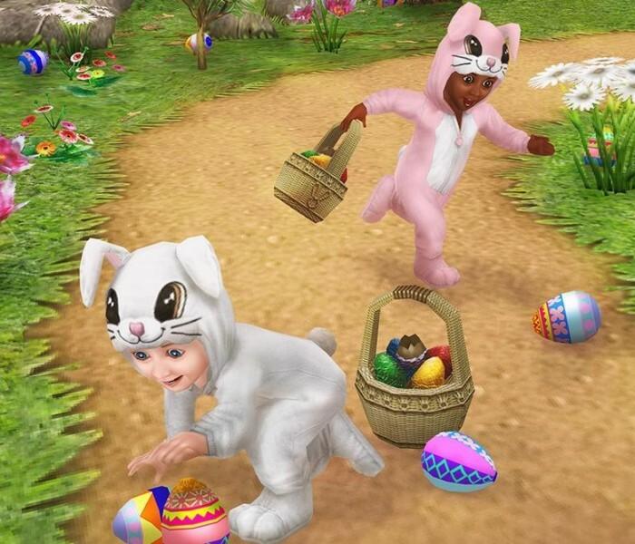 [Jeu]  The Sims™ FreePlay se met à jour pour Pâques !