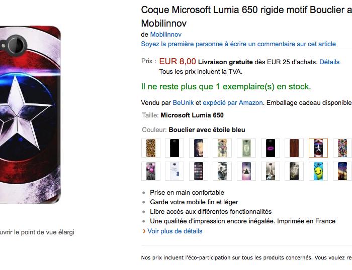 [Accessoires]  Des coques fun pour le Lumia 650