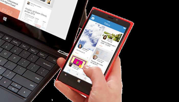 [App]  L'application Microsoft Delve aperçue sur le Windows Store