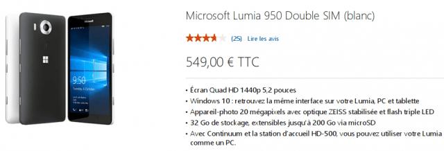 Microsoft Lumia 950 Store