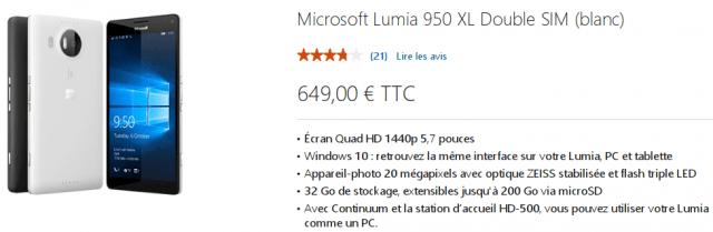 Microsoft Lumia 950 XL Store