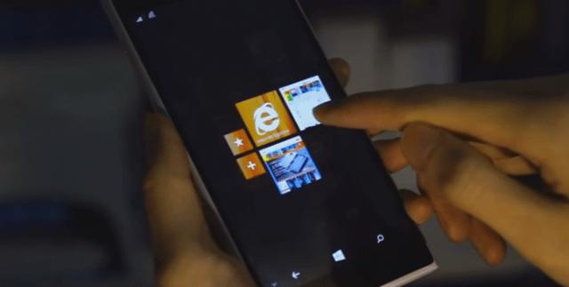 Nokia McLAren 3D Touch MixView