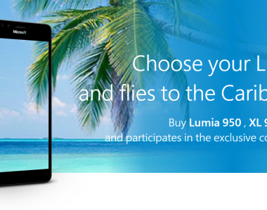 [Concours]  Microsoft Italie offre un voyage dans les Caraïbes pour l'achat d'un Lumia 950 / XL & 650