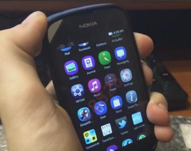 [Vidéo]  Démonstration de Meltemi sur un prototype Nokia