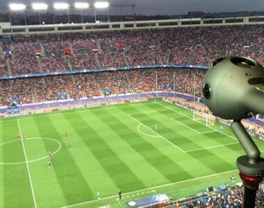 [OZO]  Nokia partenaire avec la Ligue des champions de l'UEFA pour exploiter la réalité virtuelle avec OZO