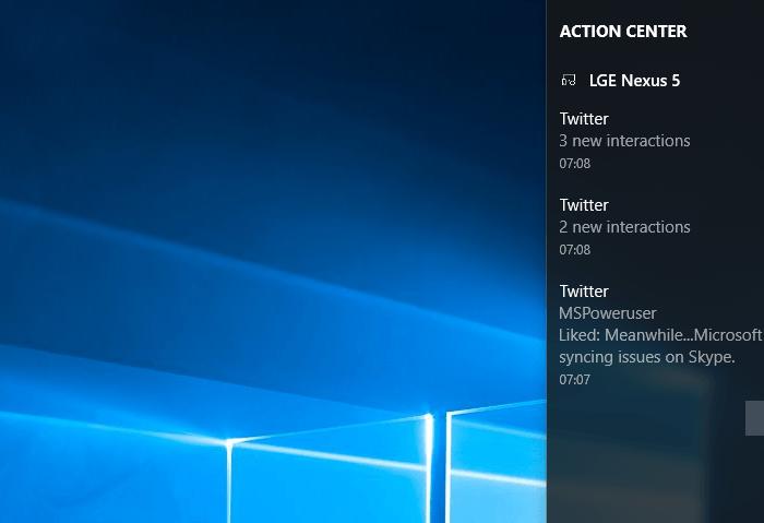 Recevez vos notifications Android sur votre PC sous Windows 10