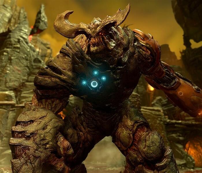 [Jeu]  Le remake de Doom disponible sur Xbox One et PC