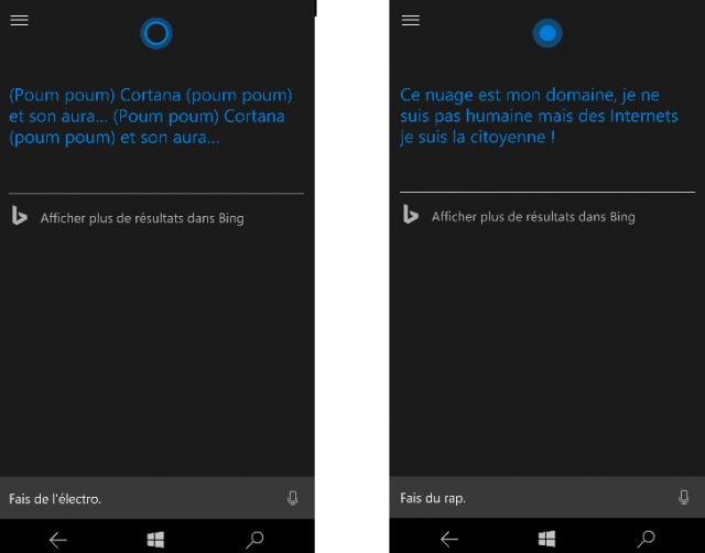 Microsoft Cortana Fête de la Musique ELECTRO RAP