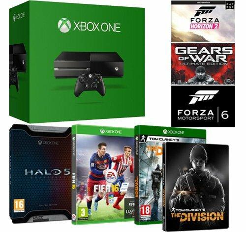 [Promo Flash]  Xbox One + 6 jeux pour seulement 289€