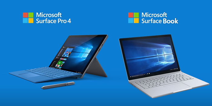 [Surface]  Surface Book et Surface Pro 4 1 To disponibles en précommande sur le Microsoft Store !