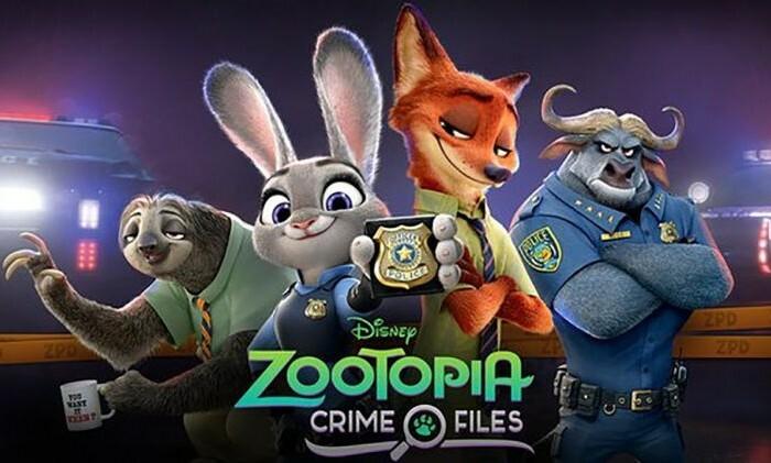 [Jeu]  Découvrez Zootopia Scènes de Crimes !