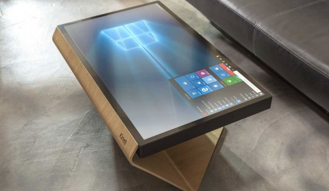 Design la table kineti une table tactile sous windows for Table kineti