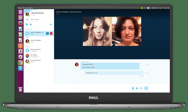 Skype Linux Call