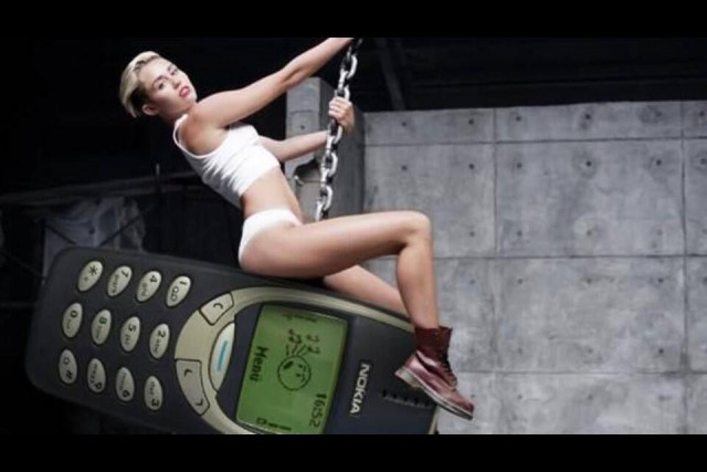 nokia miley cirus