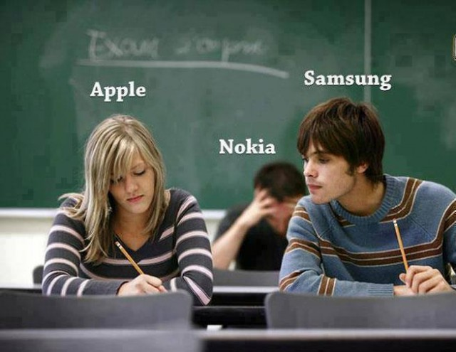 apple nokia samsung