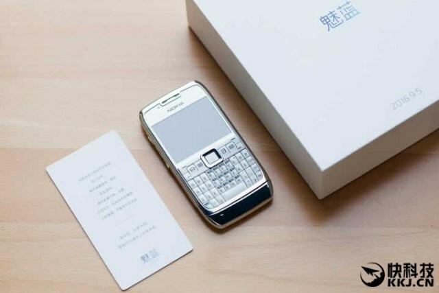 Meizu envoie des Nokia E71 aux médias chinois