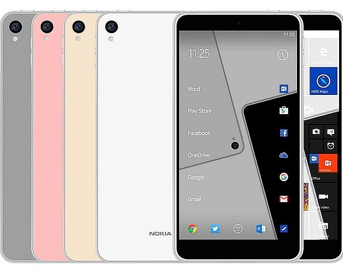 Les smartphones Nokia à venir pourraient bien ressembler au Nokia C1