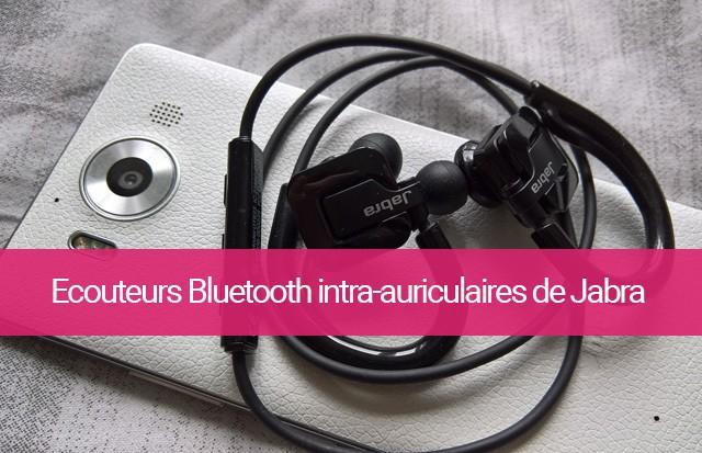 écouteurs Bluetooth intra-auriculaires de Jabra