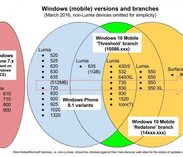 [Infographie] Quels mobiles peuvent migrer sous Windows 10?