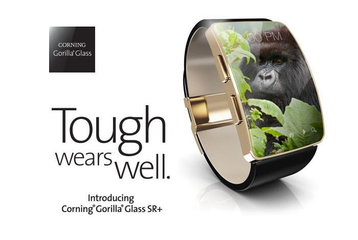 Corning annonce le Gorilla Glass SR + pour les bracelets connectés