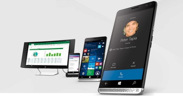 HP Elite X3 Dock Continuum Windows 10
