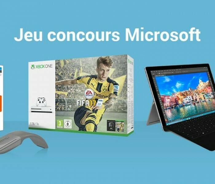 [Concours] Donnez votre avis et gagnez des produits Microsoft