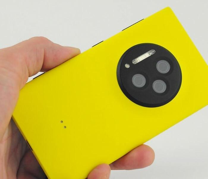 Nokia dépose un brevet à trois capteurs photo