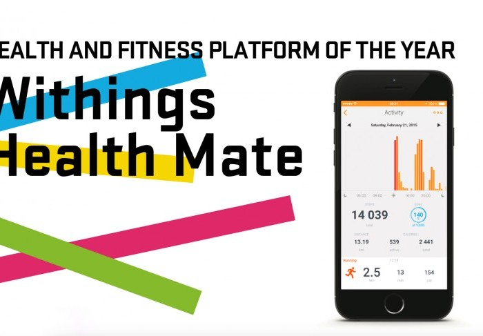Withings remporte un prix aux « Wareable Tech Awards 2016 »