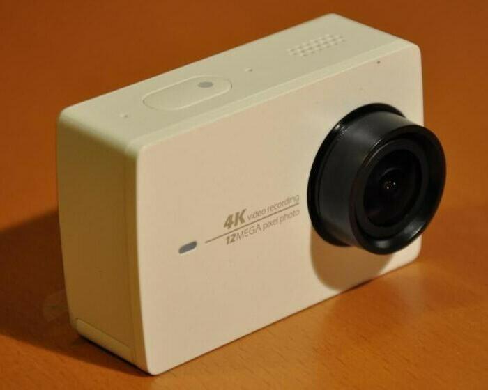 Test de la caméra sportive Xiaomi YI 4K et de son étui waterproof !