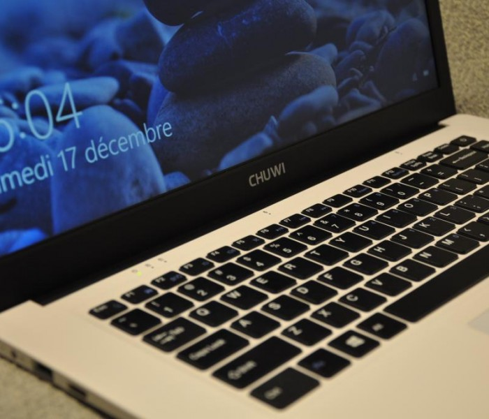 Test du notebook CHUWI LapBook sous Windows 10