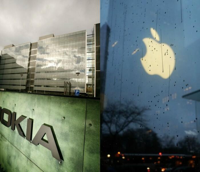 Nokia porte plainte contre Apple en Allemagne et aux Etats-Unis