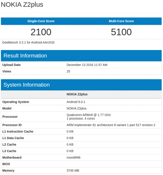 nokia-z2-plus-geekbench