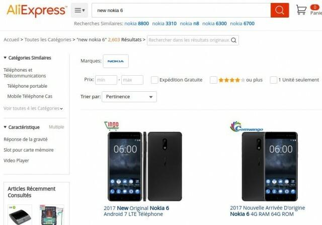 Nokia 6 AliExpress