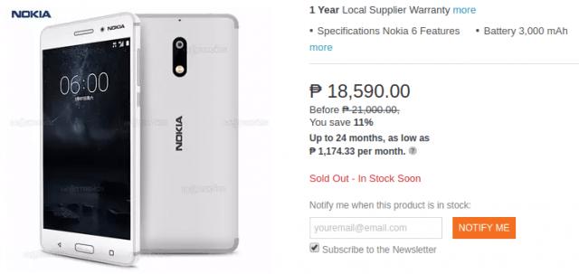 Nokia 6 Blanc