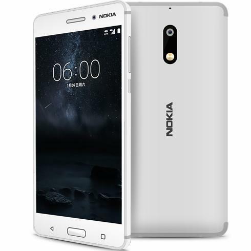 Le Nokia 6 blanc existe ?!
