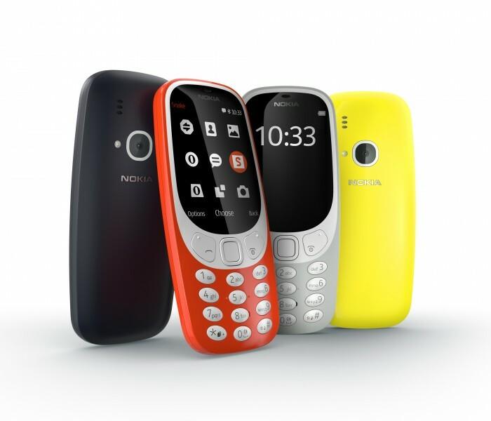 Le nouveau Nokia 3310 disponible fin avril 2017 en Europe ?!