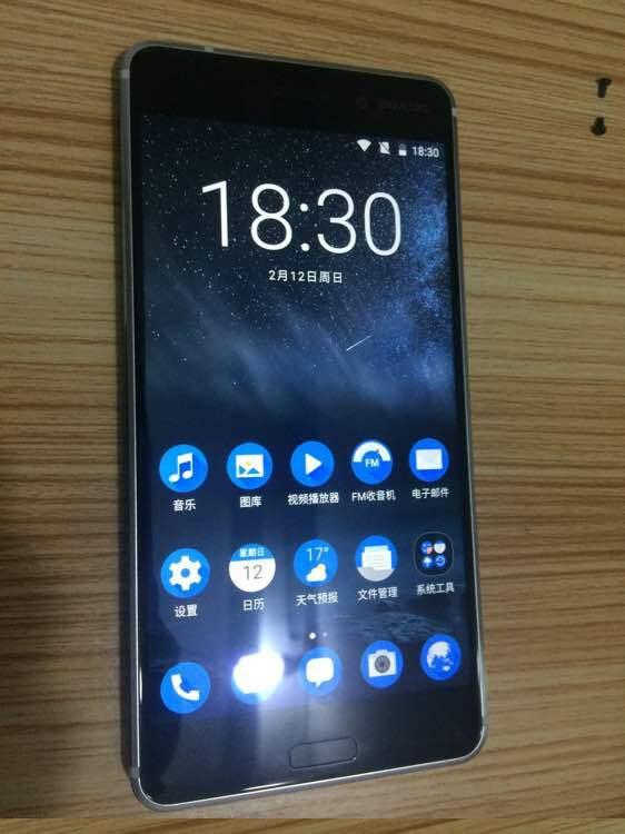 Nokia 6 Argent 1