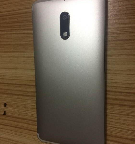 Nouvelles fuites du Nokia 6 Argent