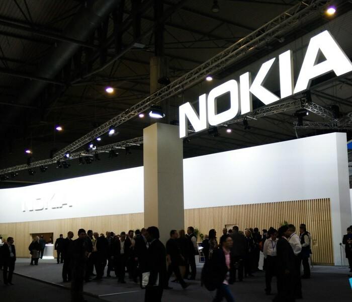 Visite express du stand Nokia au Mobile World Congress 2017