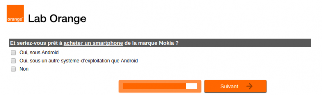 Orange Nokia Android 2