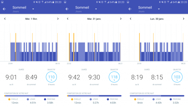 sommeil withings