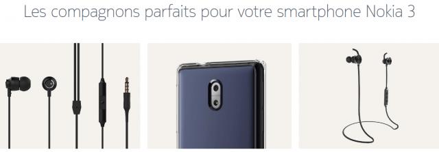 Nokia 3 accessoires