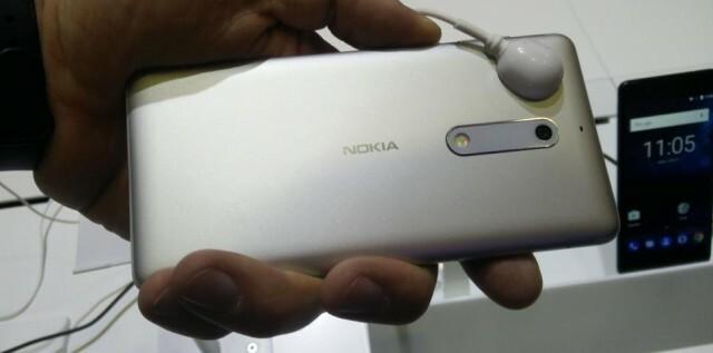 Nokia 6 Back Silver