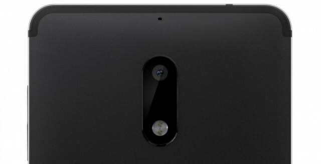 Nokia 6 back front cam