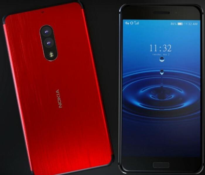 Concept du Nokia 8 en vidéo par Concept Creator