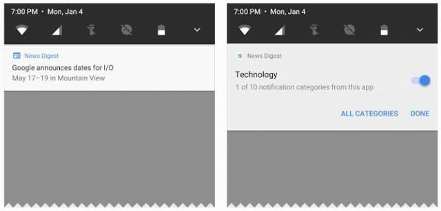 android o notif
