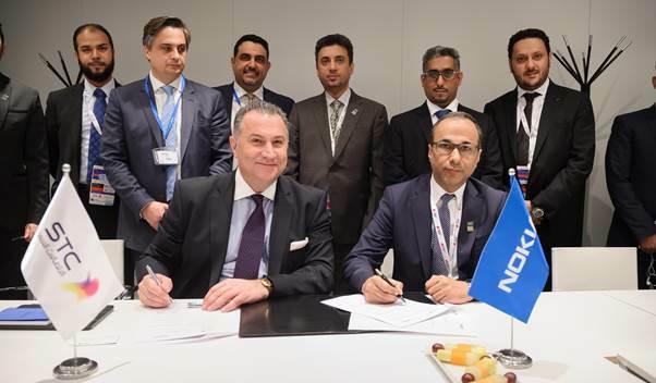 Nokia et STC collaborent sur le développement de la 5G et l'IoT