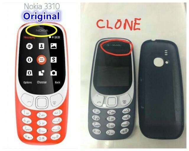 Fake Nokia 3310